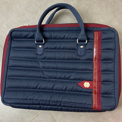 Silver Crown - Daily Bag Marine / Grenat