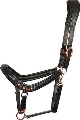 Harry's Horse - Licol anatomique en cuir noir