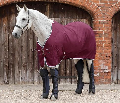 Premier Equine - Couverture séchante bordeaux