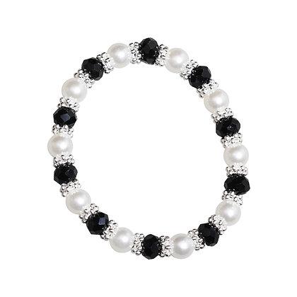SD Design - Chouchou à perles noir