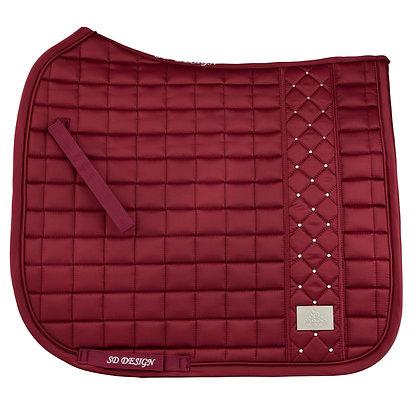 SD Design - Tapis brave burgundy dressage
