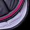 Thumbnail: Alexandra Ledermann - Tapis gris foncé, fuchsia et silver