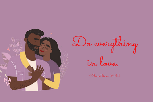 Do Everything in Love Couples Kit