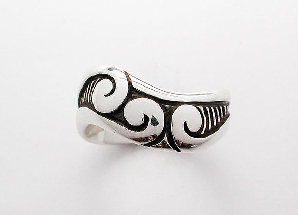 Three Koru ring