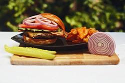 Bacon Cheddar Angus Burger