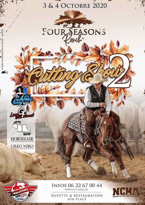 Four seasons ranch cutting show octobre
