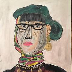 vrouw met groene baret.jpg