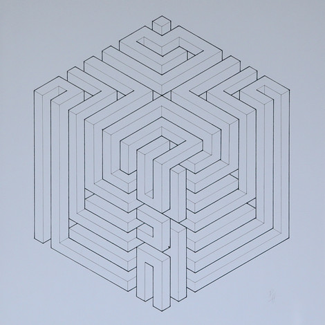 Geometric Cube Study (2014)