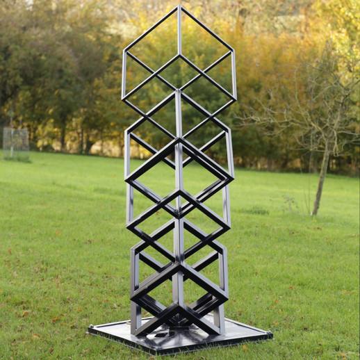 Progressive Cube Stack