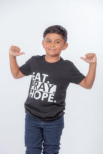EAT. PRAY. HOPE.® STACKED KIDS T-SHIRT