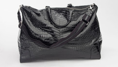 Black Alligator Tote