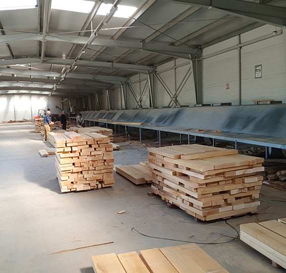 lime timber KD sorting