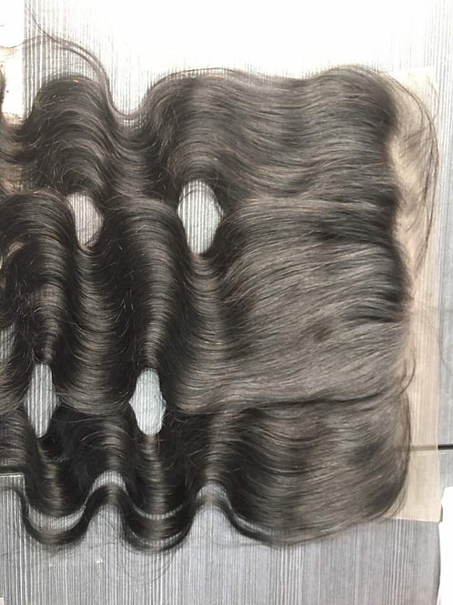 13x4 RAW Indian Straight Frontals