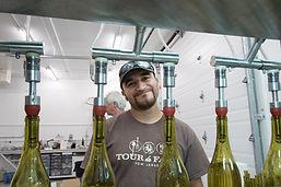Assistant winemaker, Rogelio Velasco Martinez