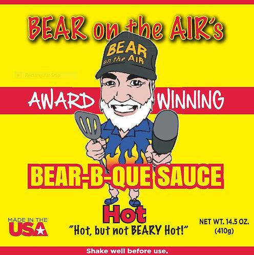 Bear on the Air's Bear-B-Que Hot Sauce