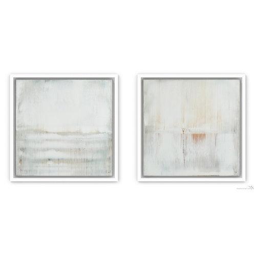 White Pearls | Set of 2 | 30x30cm