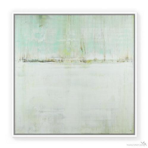 Cyan Frost | 70x70cm