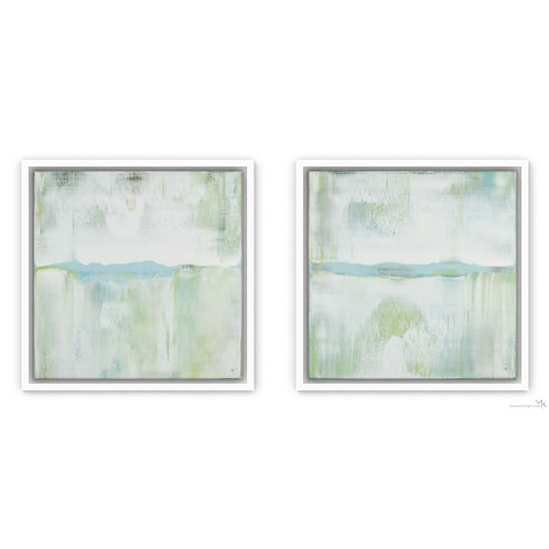 Aqua Flows | Set of 2 | 30x30cm