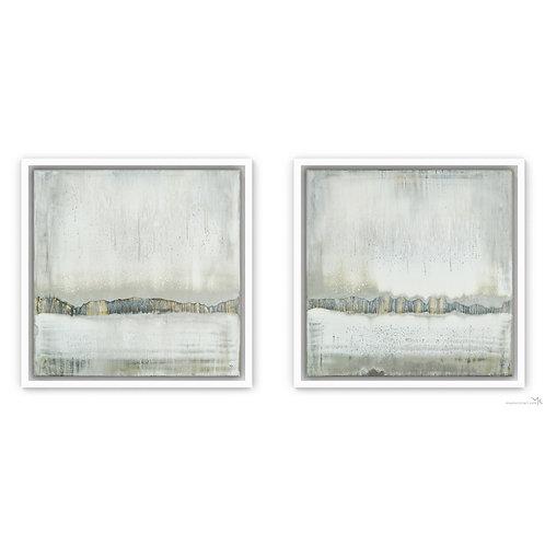 Silver Streams | Set of 2 | 30x30cm