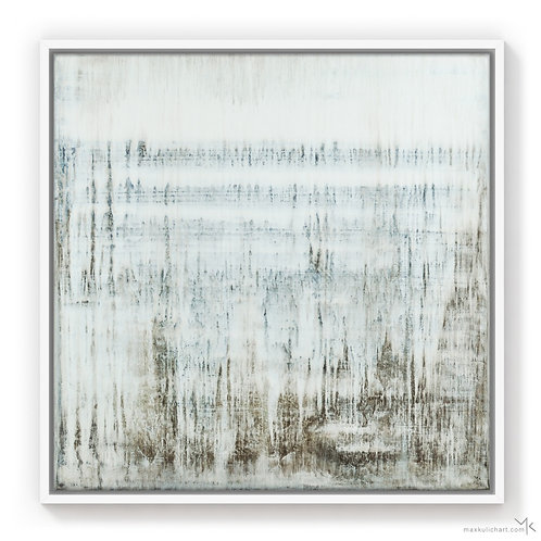 White Rain | 50x50cm