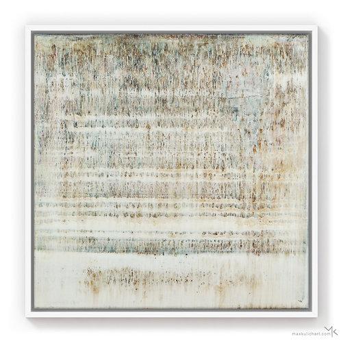 White Waves | 50x50cm