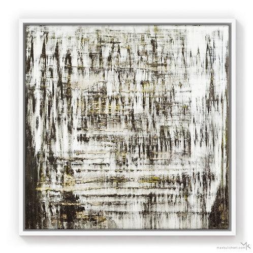 Stracciatella Haze | 50x50cm