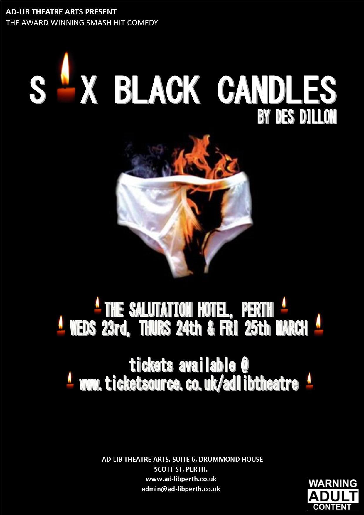 Six Black Candles