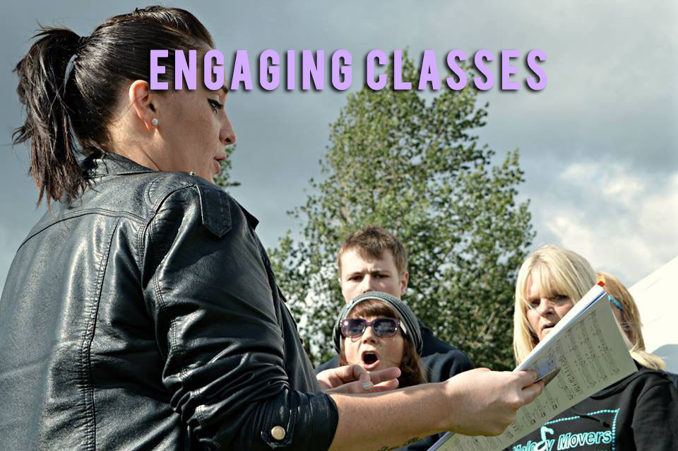 ENGAGING CLASSES
