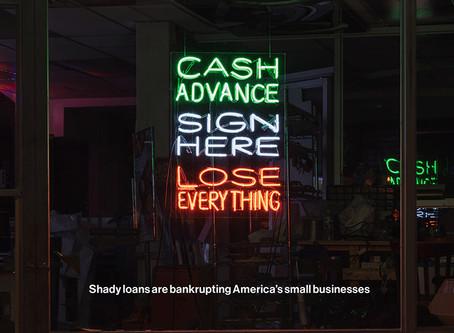 Predatory Lenders Fleecing Small Business Owners
