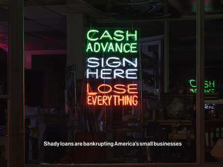 Predatory Lenders Fleecing Small Business Owners