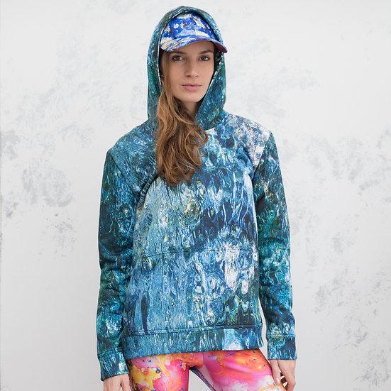 Maya Rochat Blue Hoodie