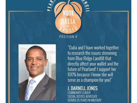 J.Darnell Jones Endorsement