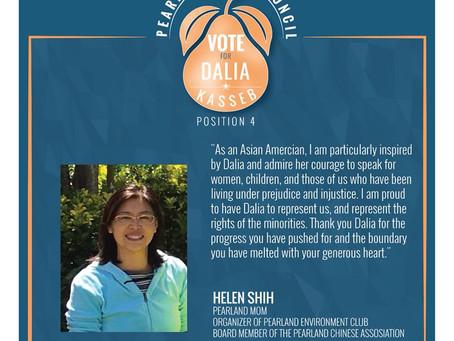 Helen Shih Endorsement