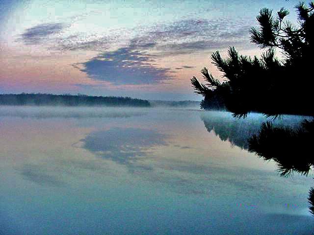 Wabana Lake Sunset #5