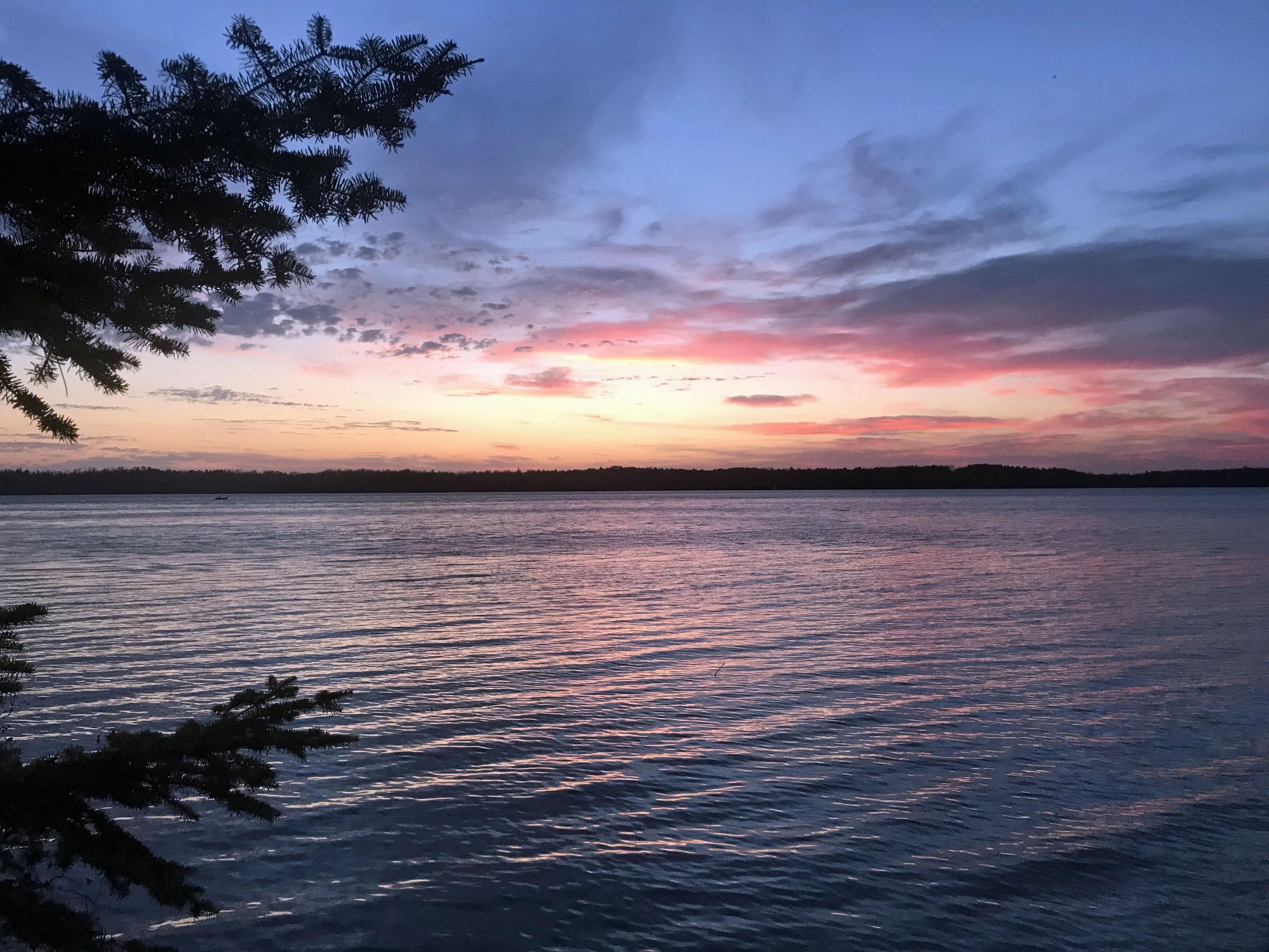 Wabana Lake Sunset #3