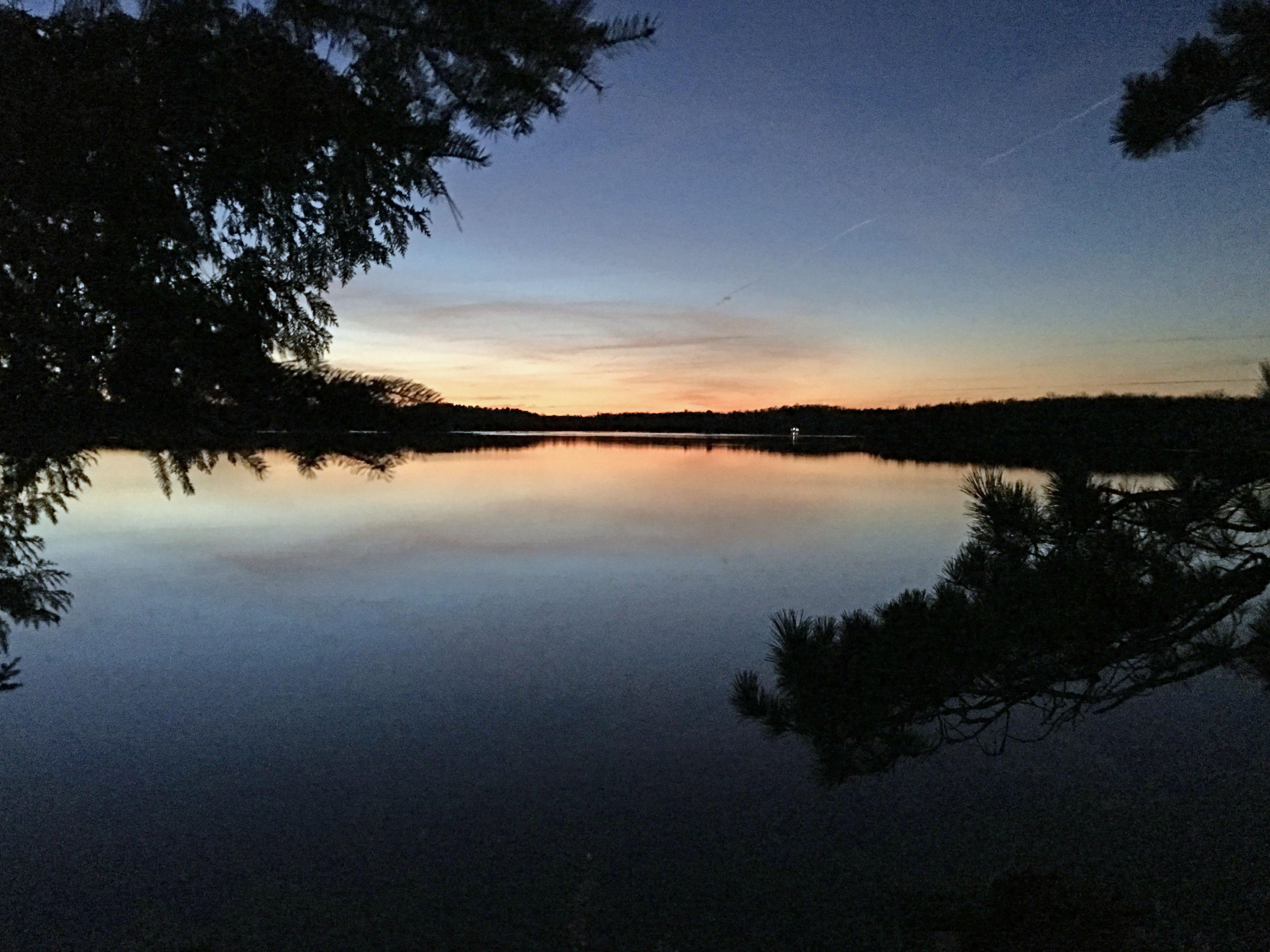 Wabana Lake Sunset #4