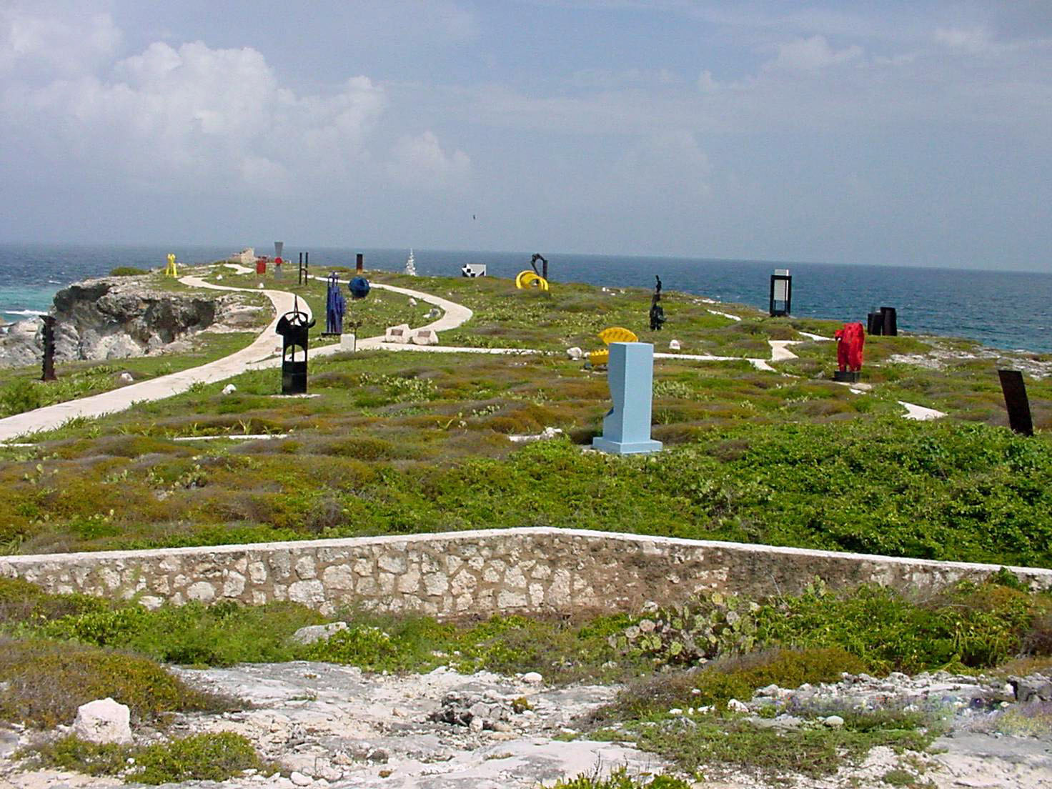 Sculpture Garden - Isla Mujeres, Mexico