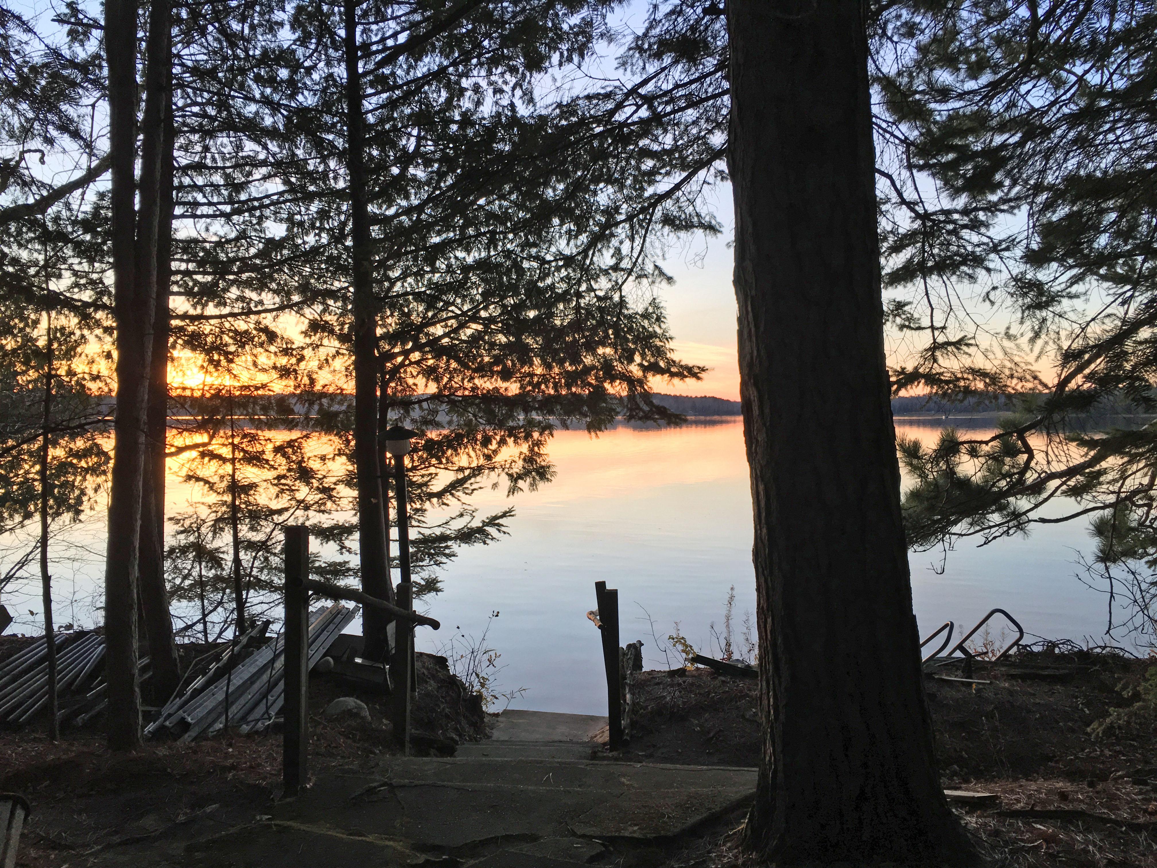 Wabana Lake Sunset #1