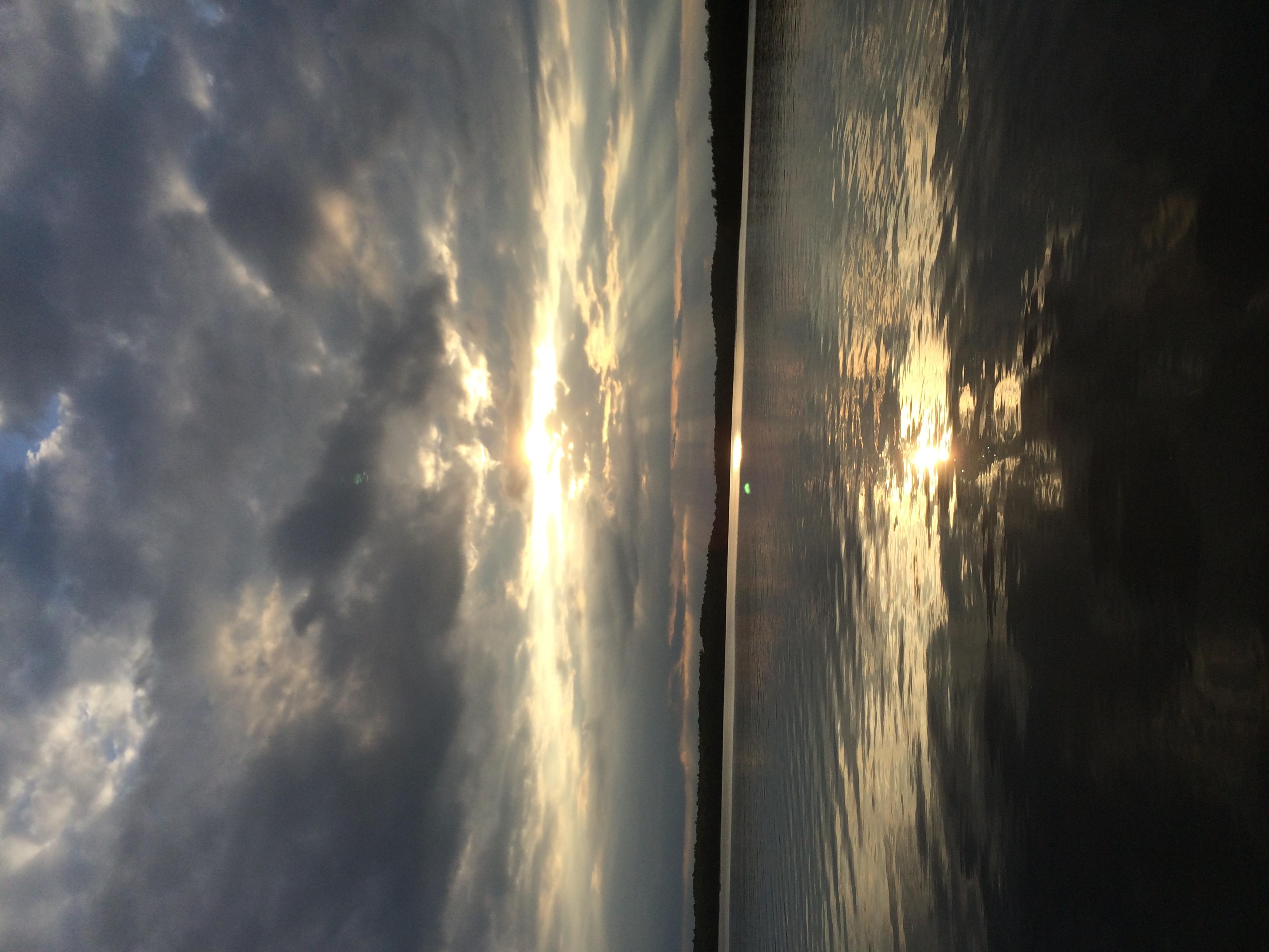 Wabana Lake Sunset #6