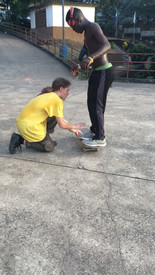Skate lessons in Freetown
