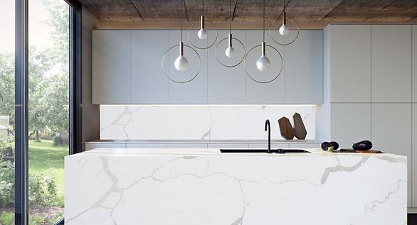 Anti-bacterial Kitchen Countertop from VIVA -Calacatta Mora