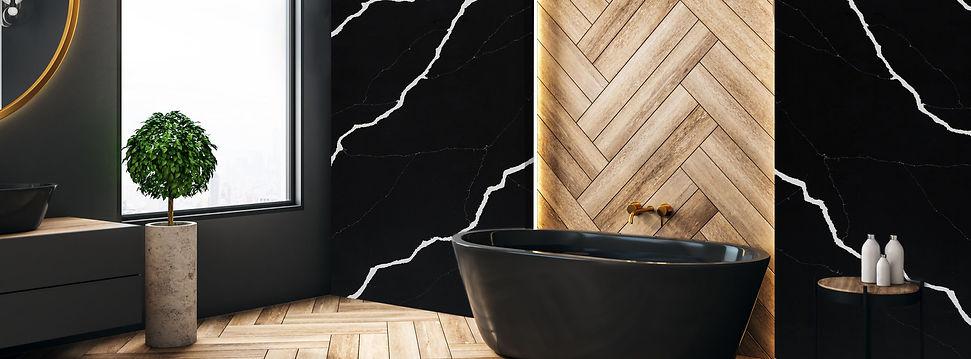 Beautiful bathroom decor -Ebony Pacific