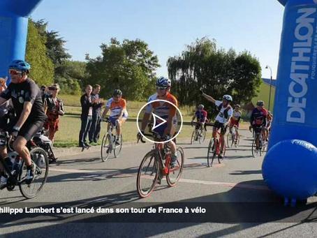 Le départ de Philippe LAMBERT en vidéo !