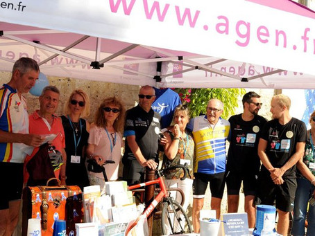 3000 km à vélo avec la sclérose en plaques (Le Petit Bleu d'Agen)