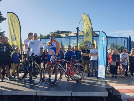 3.000 km à vélo pour un Nordiste atteint de sclérose en plaque