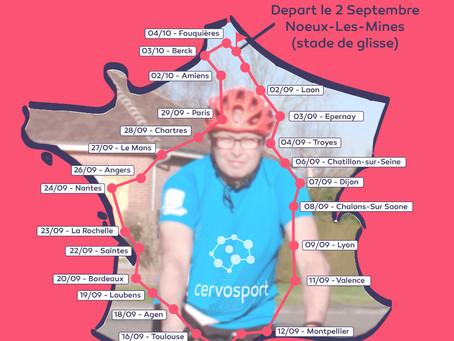 Le défi SEP Tour de France c'est parti!