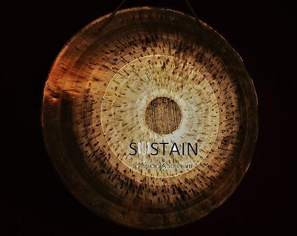 Sustain Tonstudio Scheyern Gong mit Logo