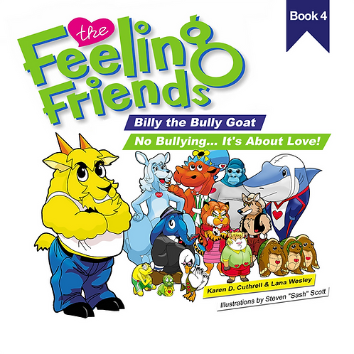 Billy the Bully Goat Book