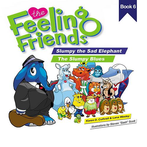 Slumpy the Sad Elephant Book