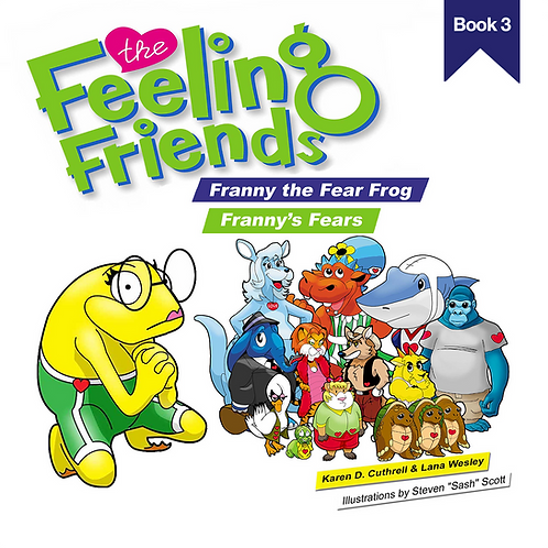 Franny the Fear Frog Book